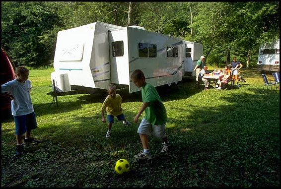 RVing is fun for the family